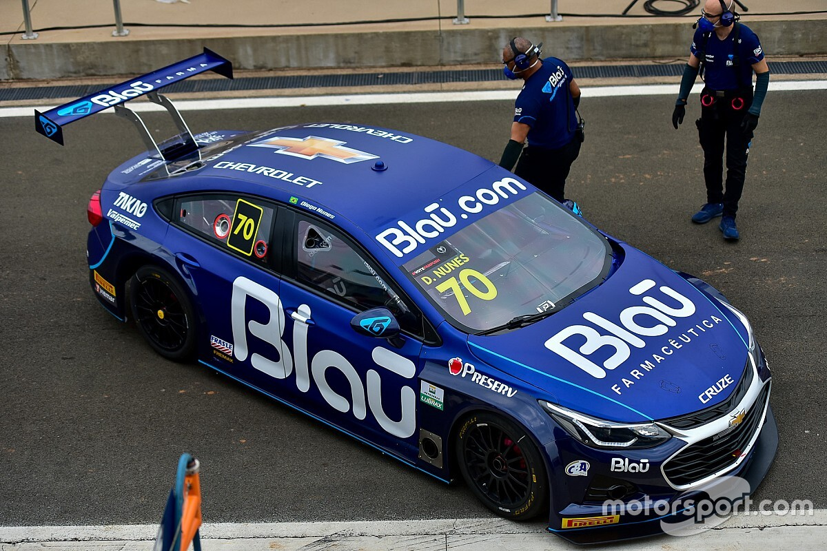 Com Diego Nunes, Blau conquista sua primeira vitória na Stock Car