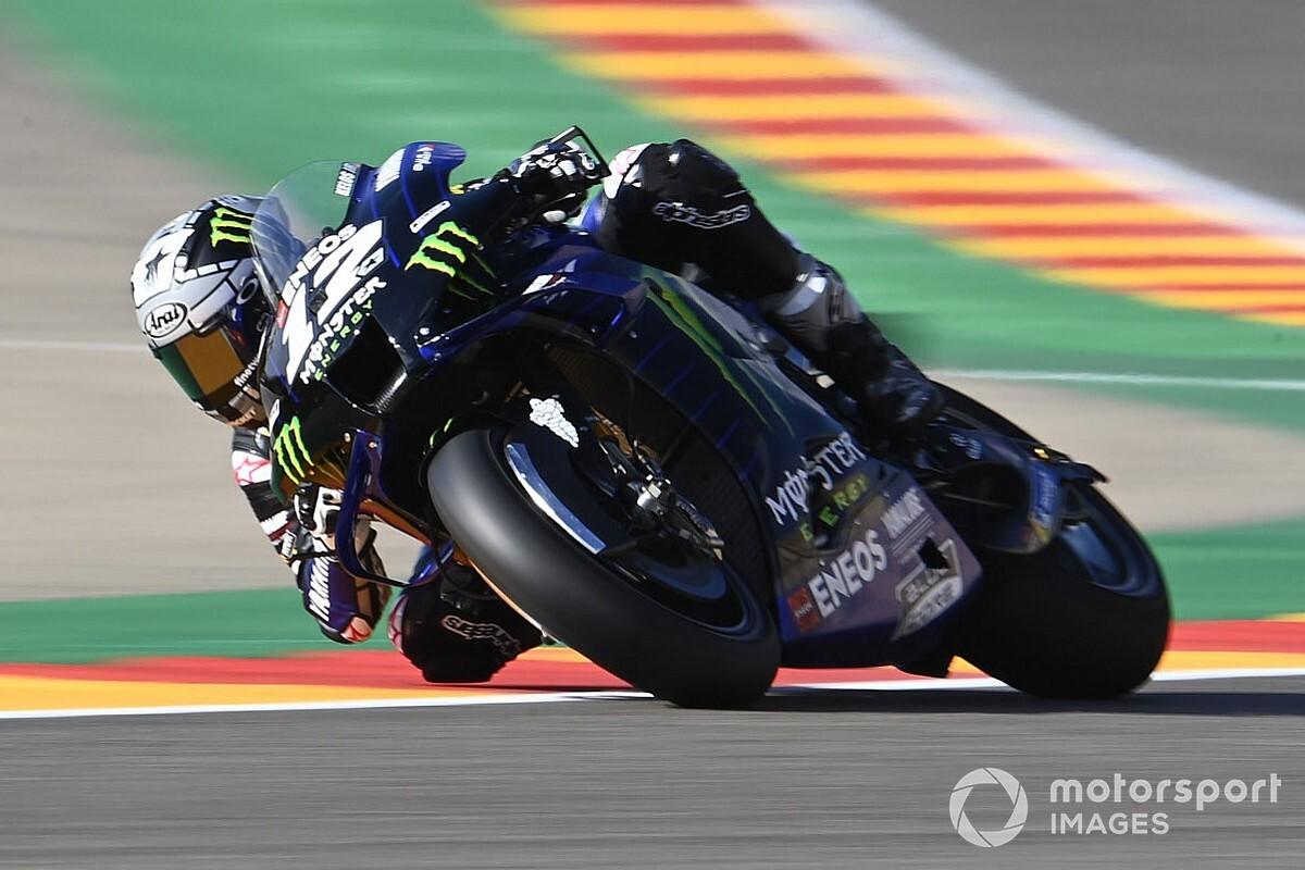 "Vinales ""not thinking about"" MotoGP championship at Aragon"