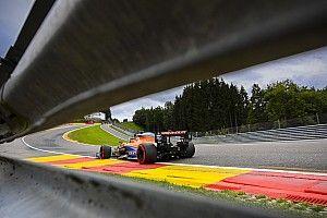 Fotos: así suben desde Eau Rouge los Fórmula 1 2020
