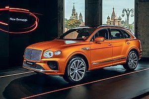 Обновленный Bentley Bentayga доехал до Москвы