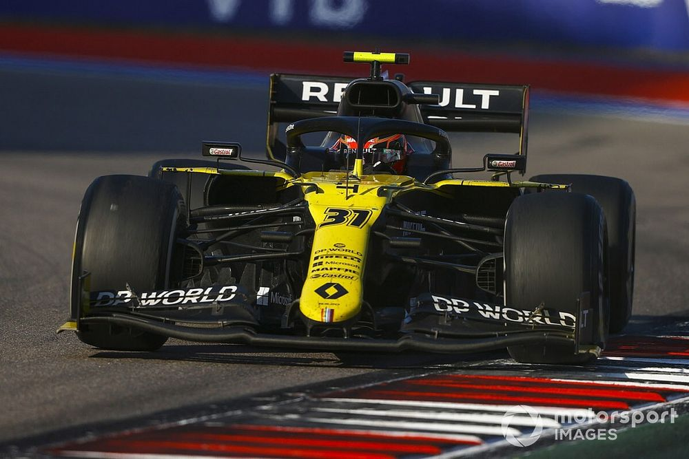 "Russia my ""strongest race"" in F1 2020 until pitstop - Ocon"