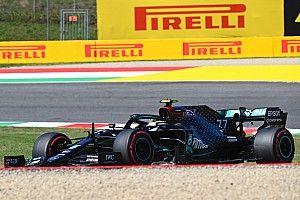 F1: Bottas, sin pole en Mugello por la bandera amarilla