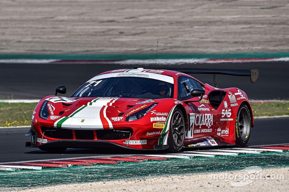 GT Italiano, Vallelunga, Libere 3: AF Corse risponde presente