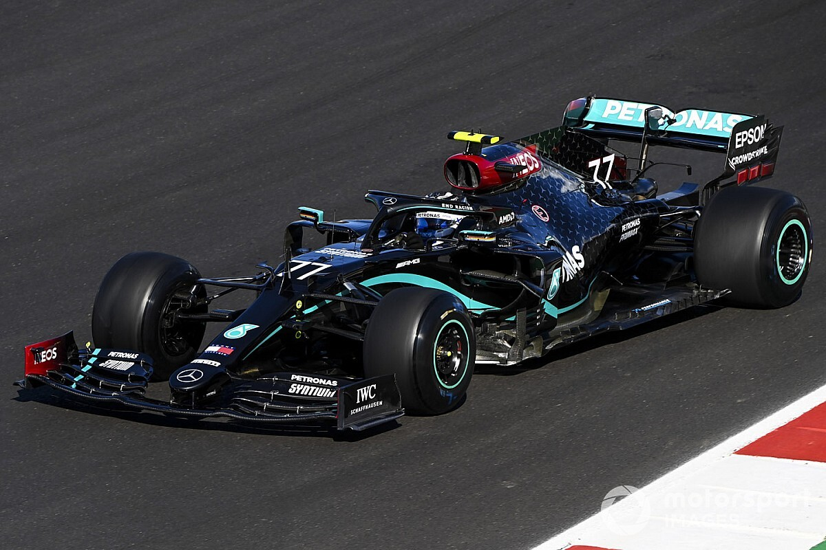 Portuguese GP: Bottas completes practice sweep at Portimao