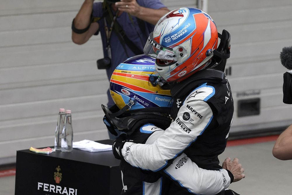 """Ocon: """"Me hablaron mal de Alonso como compañero, y no es así"""""""