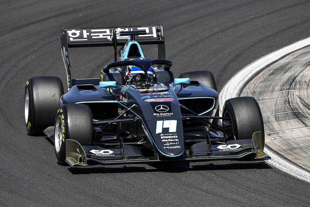 Племянник пилота Ф1 выиграл гонку Формулы 3 у внука чемпиона Ф1