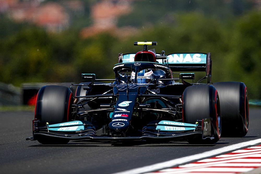 F1, Budapest, Libere 2: le Mercedes suonano Verstappen