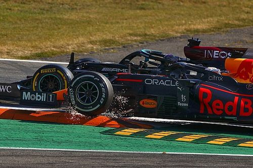Verstappen says Hamilton left him with nowhere to go in Italian GP crash