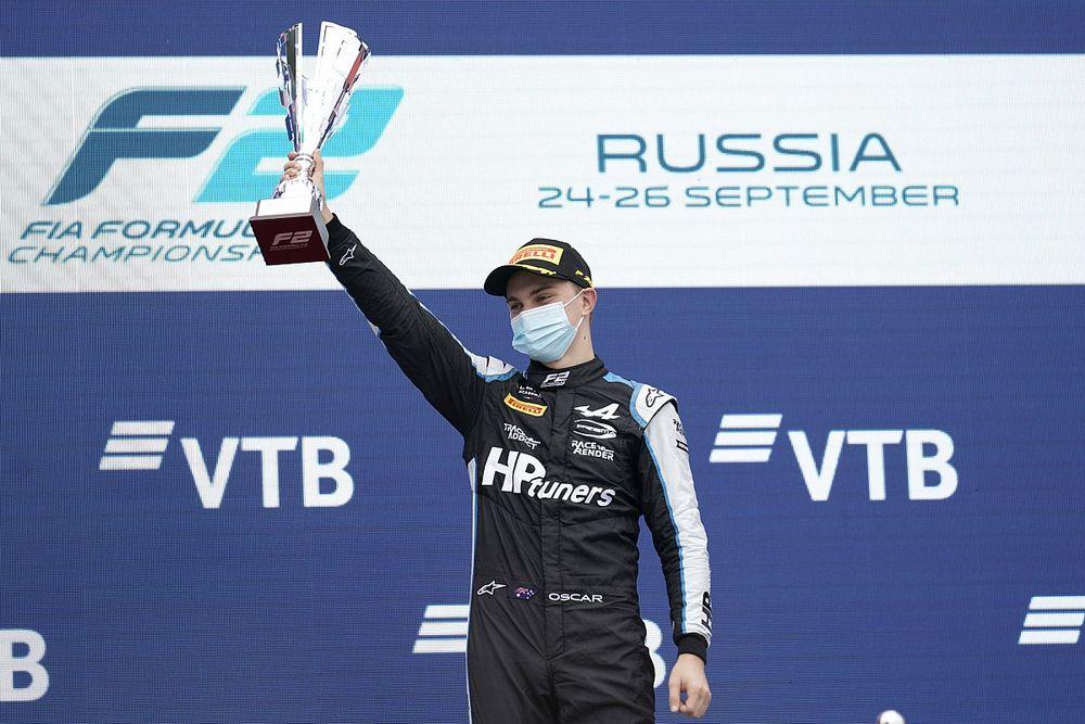 Oscar Piastri Senang Mendominasi Feature Race F2 Rusia