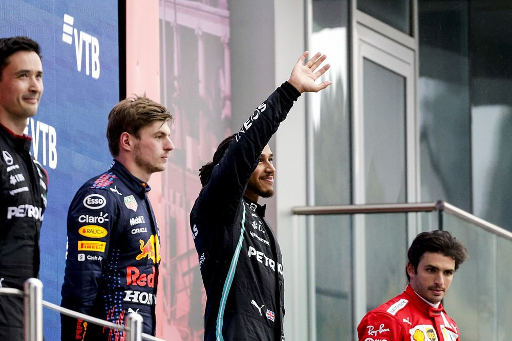 Update Klasemen F1 Usai GP Rusia: Geser Verstappen, Hamilton Kali Ketiga ke P1