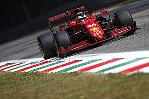 Ferrari: Leclerc lotta oltre i limiti di velocità della SF21
