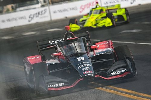 Ericsson baffled by Nashville win after going airborne in Bourdais clash