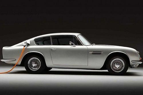 Une Aston Martin DB6 électrique!