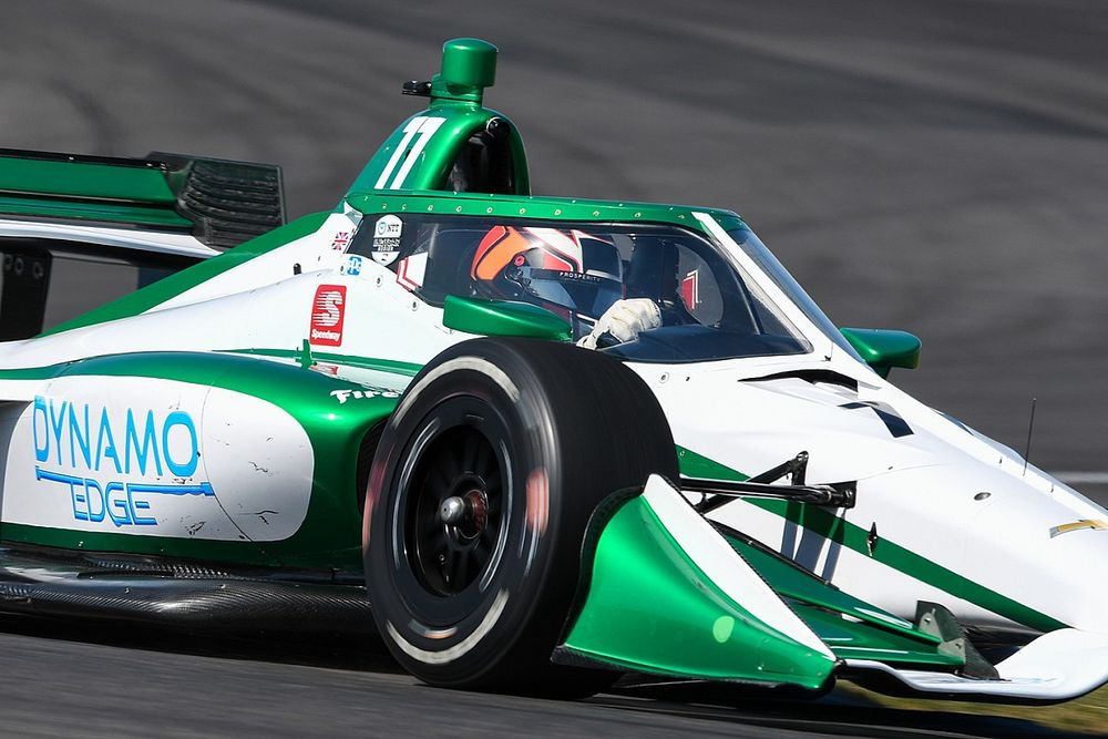 Ilott to race all three remaining IndyCar rounds