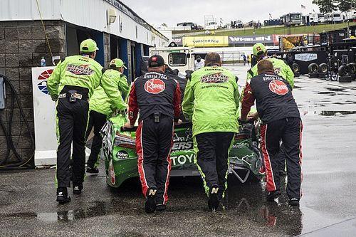 Kyle Busch: Sunday's NASCAR Cup race 'never should've gone green'