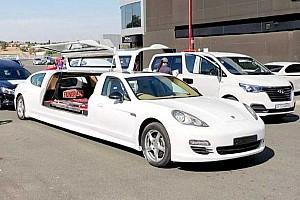Egy Porsche Panamera vezeti az év egyik legbizarrabb rekordkísérletét