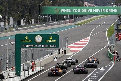 Startaufstellung: Formel-1-Grand-Prix von Mexiko 2019