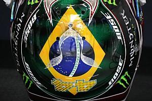 Galeri: Hamilton'ın Brezilya'da kullanacağı kask