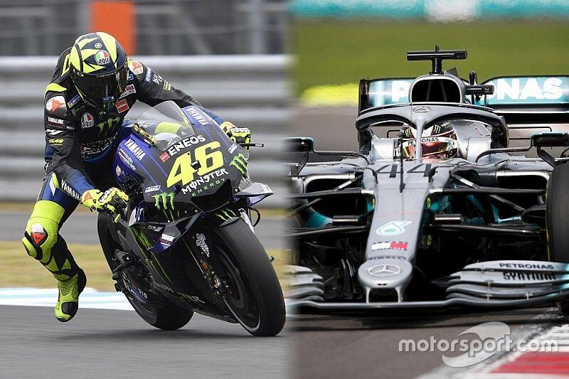 El esperado intercambio entre Hamilton y Rossi será el 9 de diciembre en Cheste