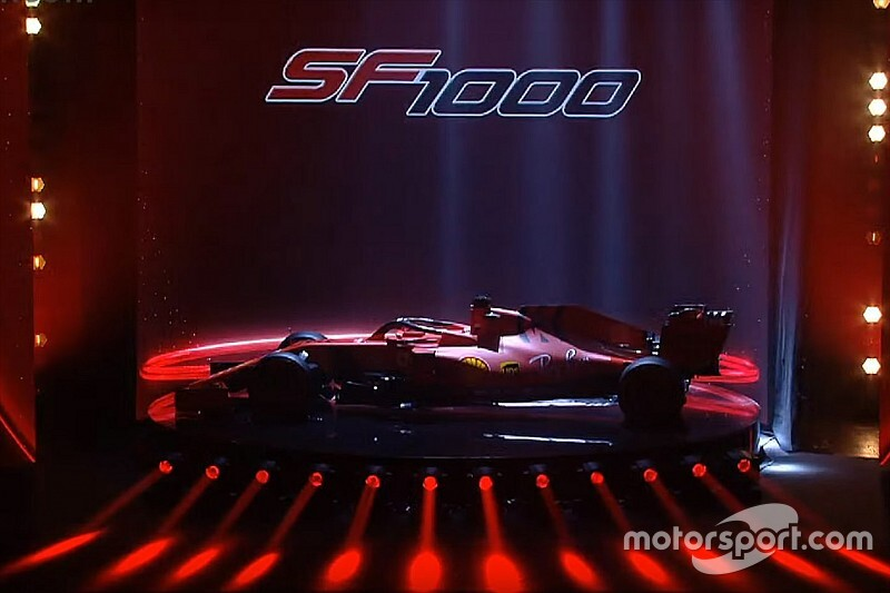 Ferrari представила болид 2020 года