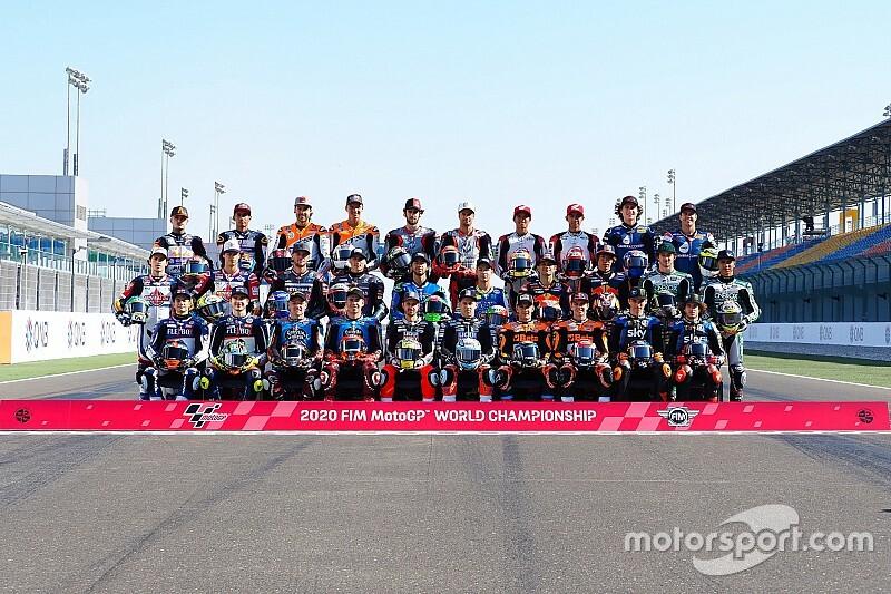 Galería: primer día de clase en Moto2 y Moto3