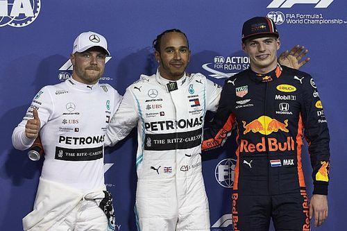 Eindstand wereldkampioenschap Formule 1 2019