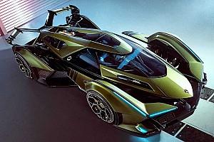 La Lambo V12 Vision Gran Turismo, une hybride délirante