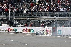 VIDEO: el accidente de Bottas en la calificación del GP de México