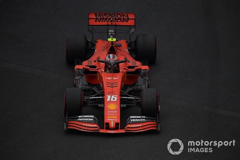 Leclerc nyerte az FP3-at Vettel és a két Mercedes előtt a Mexikói Nagydíjon