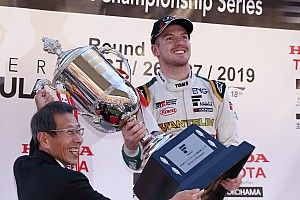 "Cassidy in tears after ""special"" Super Formula triumph"