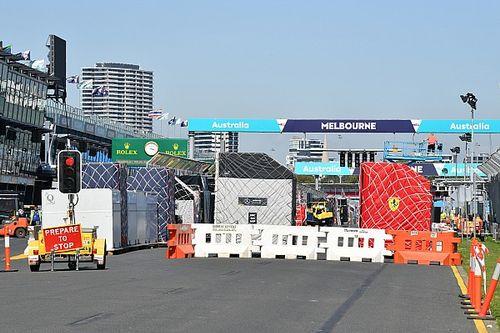 Galería: Inicia el montaje del GP de Australia