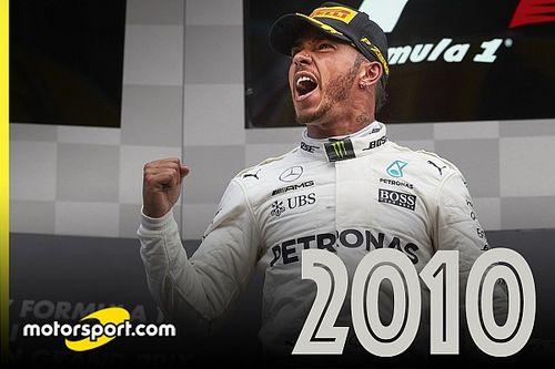 A 2010-es évek F1-es világbajnokai