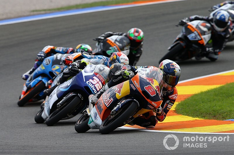 "Miller: 2019 ""definitely"" better than Moto3 runner-up season"