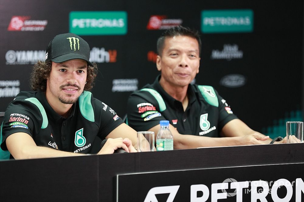 Petronas quiere renovar a Morbidelli antes de que arranque el Mundial