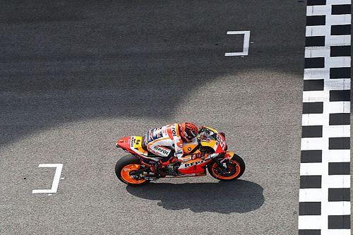 Marquez fáradtan esett, Dovizioso a levegőt kapkodta borulása után