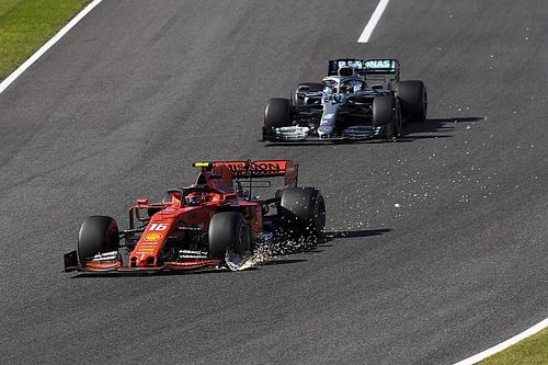 """Leclerc erkent: """"Ik had onderstuur voor touché met Verstappen"""""""