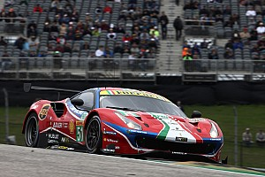 "Calado has ""mixed emotions"" about Ferrari podium"