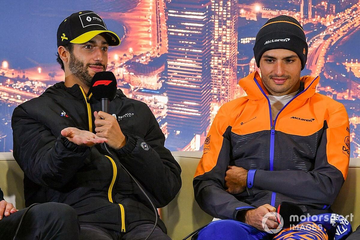 Ricciardo x Sainz: engenheiro brasileiro que trabalhou na Renault surpreende ao comparar os pilotos