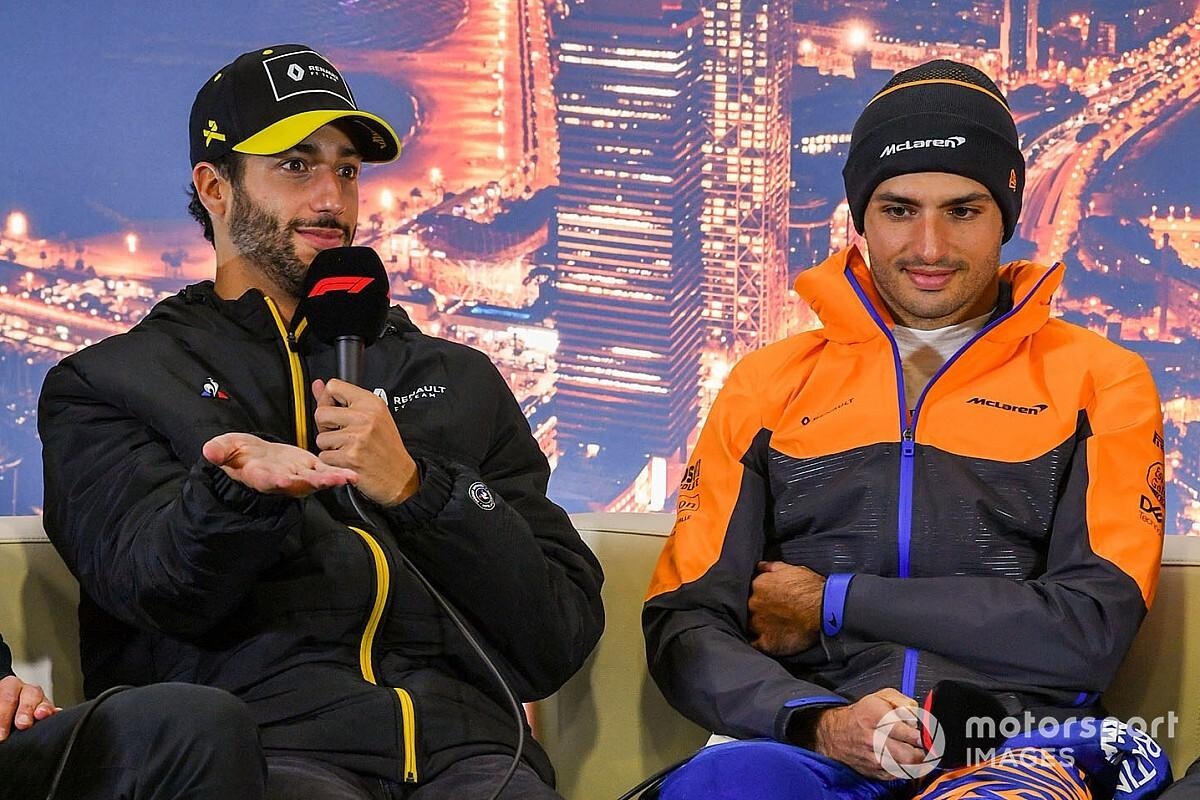 BBC: Ricciardo vai para a McLaren e Sainz para a Ferrari em 2021