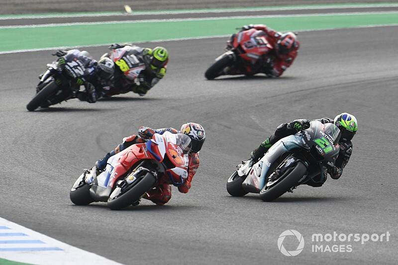 «Я чуть не обмочился». Морбиделли объяснил свой жест по ходу гонки MotoGP в Мотеги