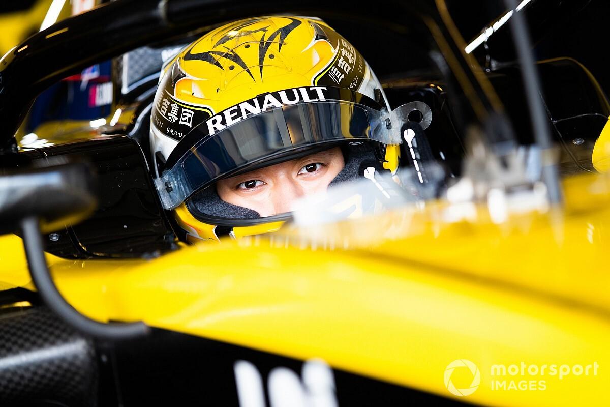 Renault kondigt F2-coureur Zhou aan als testcoureur