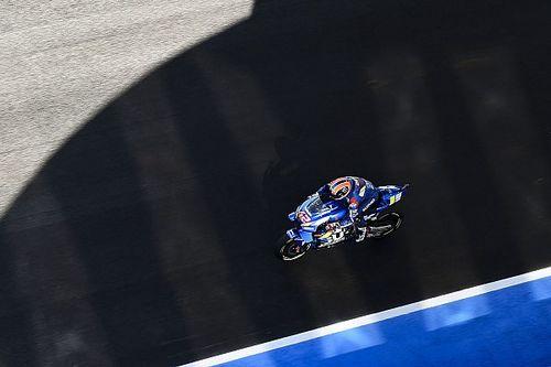 Rins élvezi, hogy a Suzukival Marquez sarkában van