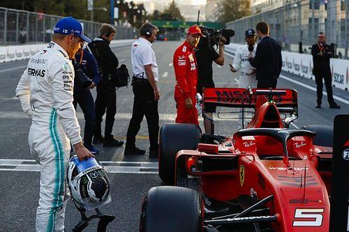 """Wolff: Ferrari recibió un """"doble golpe"""" en la Q3"""