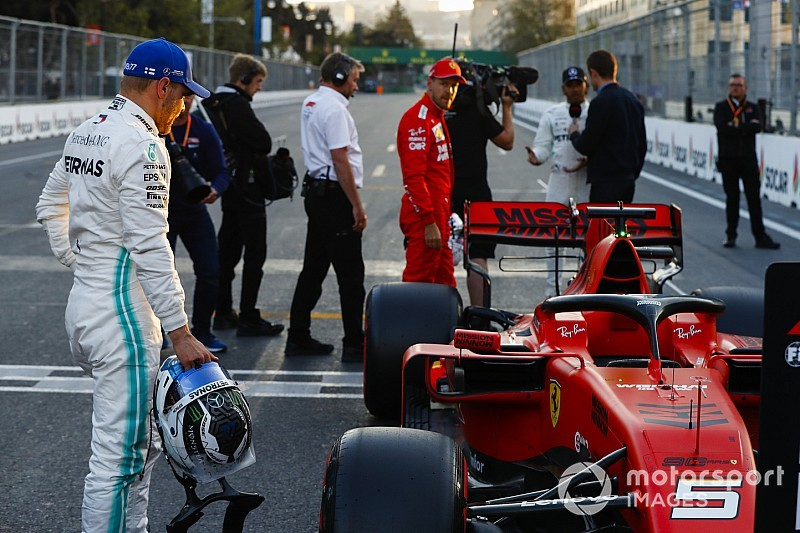 """Wolff: Ferrari thwarted by Q3 """"double whammy"""""""