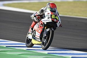FP3 Moto3 Prancis: Suzuki di depan Migno-Masia