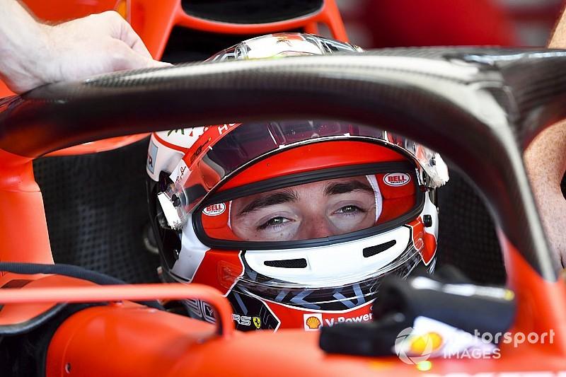 Leclerc pospieszał Vettela