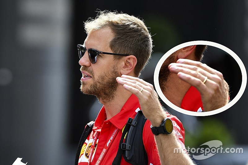 Vettel se casó tras el GP de Canadá
