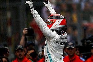 GP Monako: Hamilton menang meski drama ban