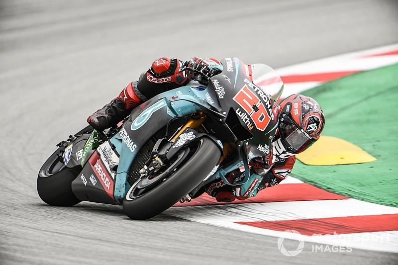 Quartararo imponeert tijdens tweede training GP Catalonië