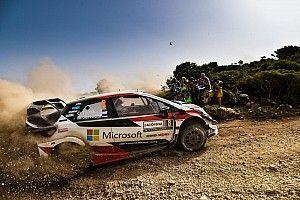 Toyota confirma el problema de dirección que arruinó el Rally de Italia a Tanak